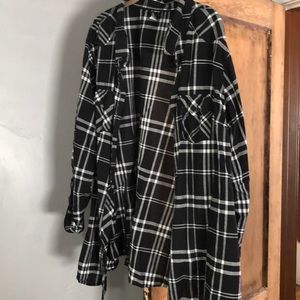 Used plaid shirt